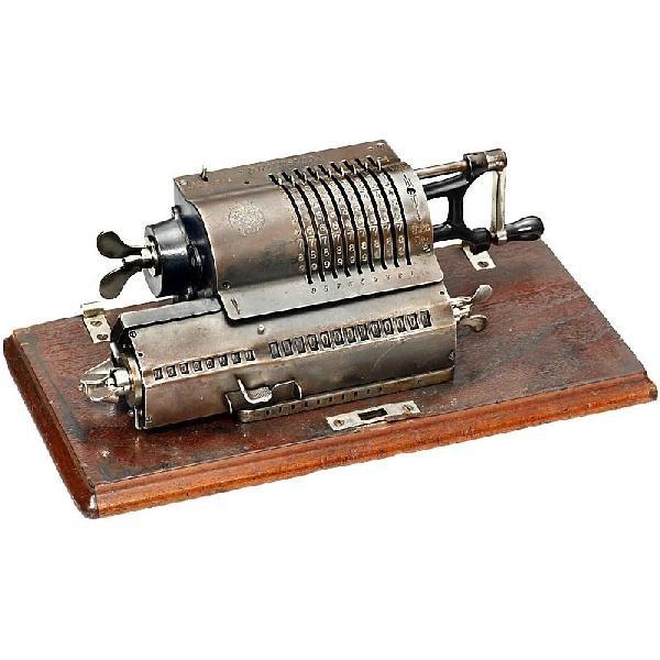 """23: """"Brunsviga Patent"""", c. 1910"""