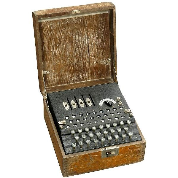 54: Ciphering Machine Enigma, 1939