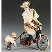 593: French Lady Cyclist Automaton, c. 1900