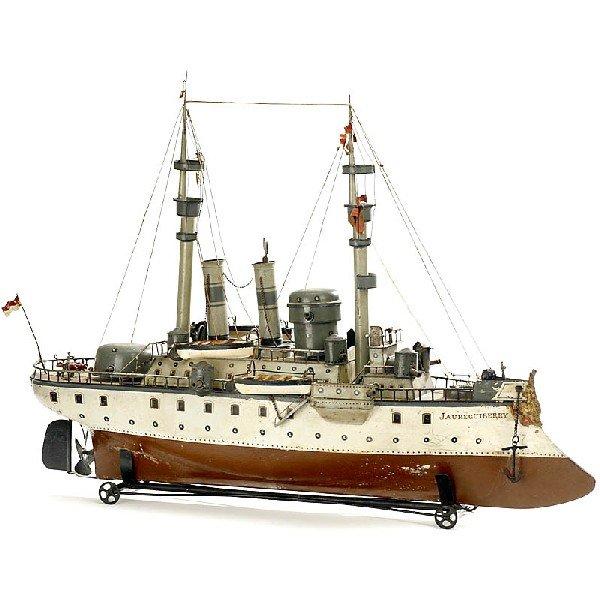 """787: Large Battleship by """"Märklin (No. 1094)"""", c. 1905"""