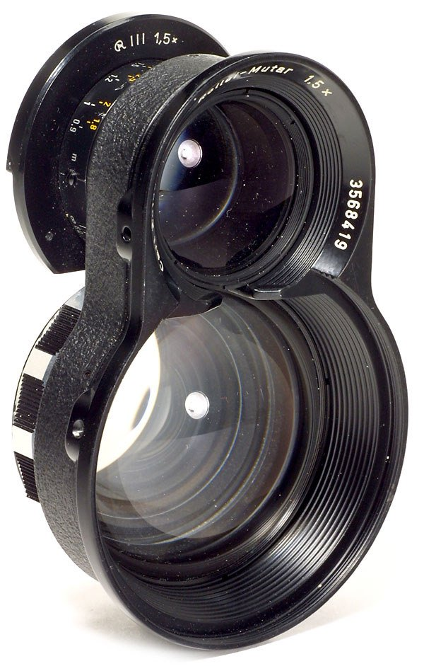 2026: Rollei-Mutar 1,5x for Rolleiflex