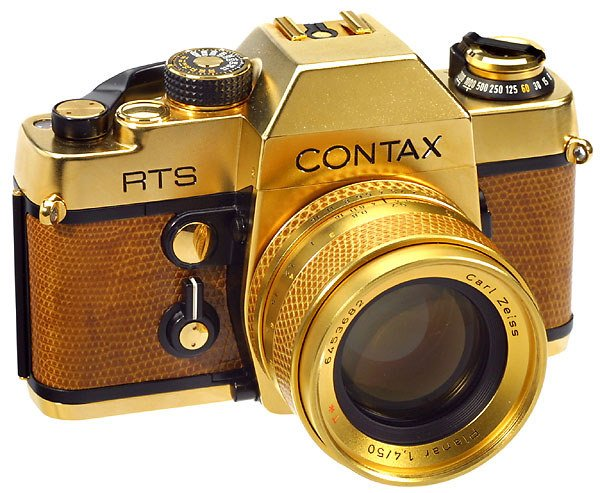 2117: Luxury Version Contax RTS Gold, 1982