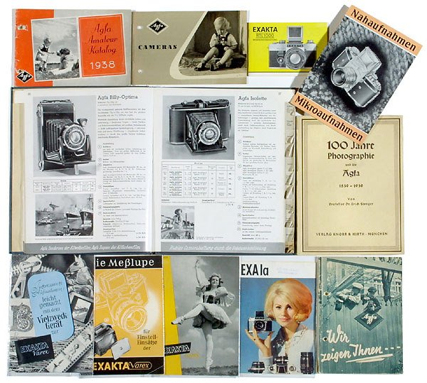 2182: Literatur Agfa