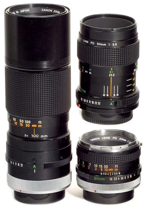 2331: Canon FD Lenses