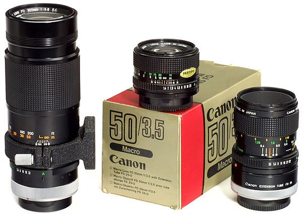 2334: Canon FD Lenses