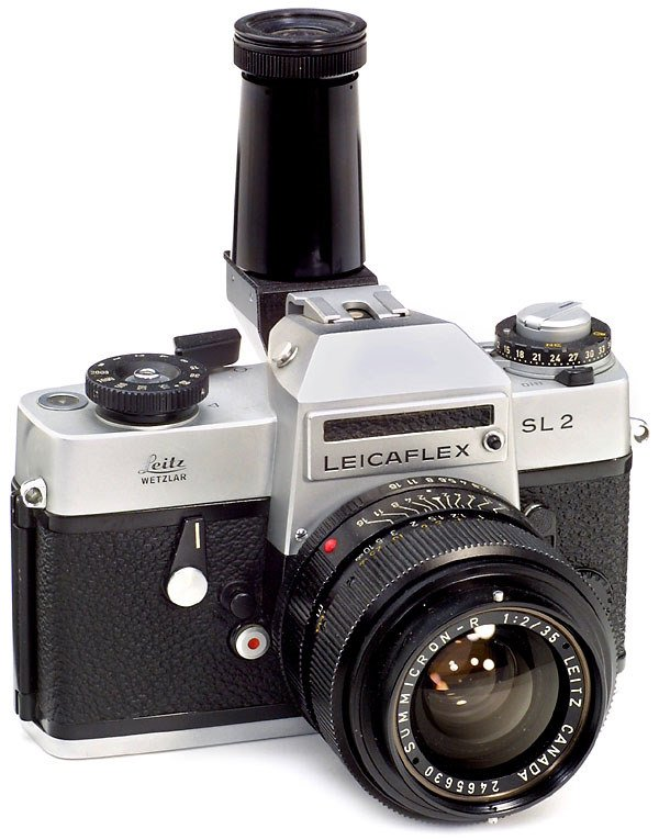 2663: Leitz Leicaflex SL2 mit Summicron-R 2/35