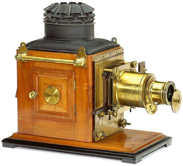 2967: Große dekorative Laterna Magica - Magic Lantern,