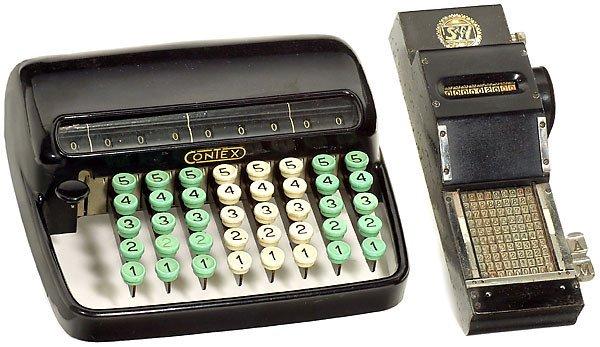 """3: 3 Calculating Machines  """"S&N - Seidel & Naumann"""" """"Di"""