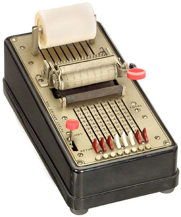 "8: Swedish Manual Adding Machine ""Saldorita"" 1955"