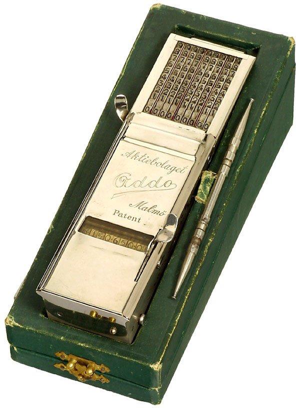 "10: Adder with Printer  ""Addo"" 1920 Calculator"
