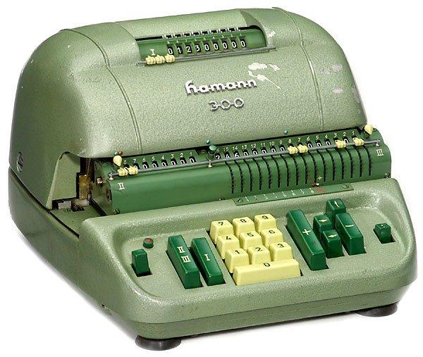 "11: Electrical calculator ""Hamann Mod. 300"" 1958"