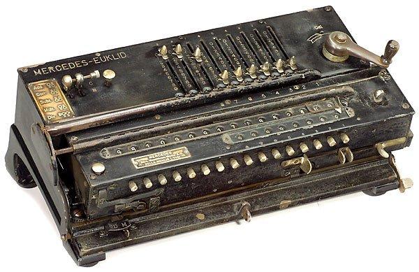 "12: Calculating Machine ""Mercedes-Euklid Mod. 1"" 1905"