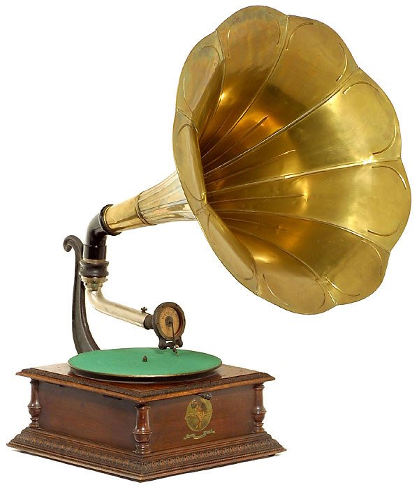 "481: French Gramophone ""Pathé"" Pathéphone"
