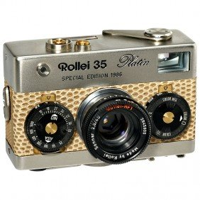 4: Rollei 35 Platin Special Edition, 1986