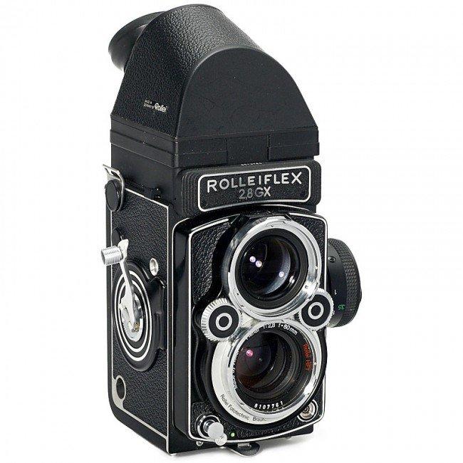 7: Rolleiflex 2,8 GX with Pentaprism Finder