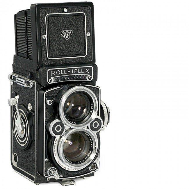8: Rolleiflex 2,8 F, 1973