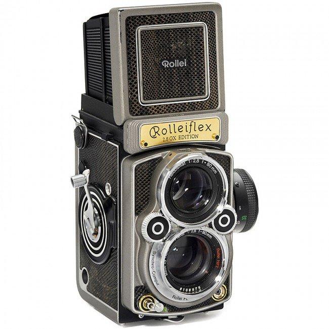 """9: Rolleiflex 2,8 GX Edition """"1929-1989"""", 1989"""