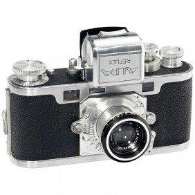 """Alpa Reflex Model D """"First Generation"""", 1946"""