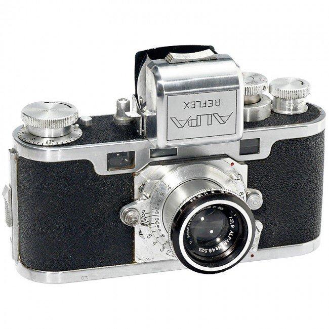 """13: Alpa Reflex Model D """"First Generation"""", 1946"""