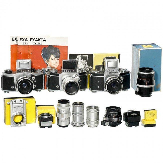 16: 3 Exakta Cameras, Lenses and Accessories