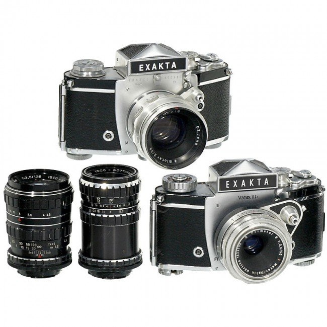 17: Exakta Varex IIa, IIb and 4 Lenses