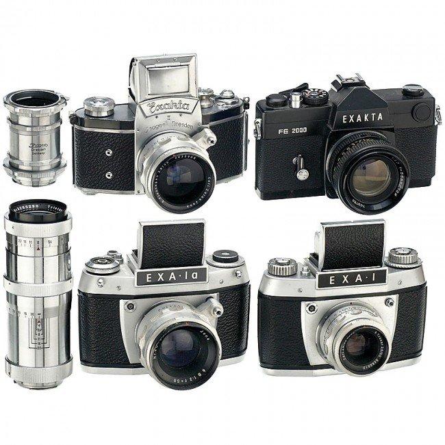 18: 4 Exakta and Exa Cameras
