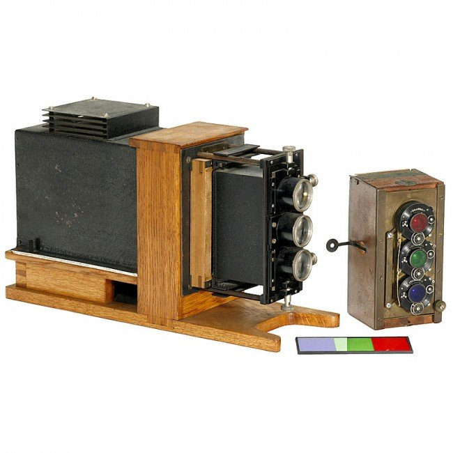 160: Three-Color Camera and Projector by Dr. August Wet