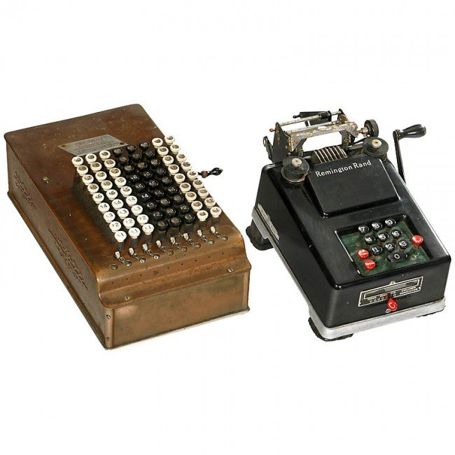 "4: ""Comptometer"" and ""Remington Adder"""