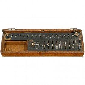 """6: """"Burkhardt Arithmometer"""", 1878"""