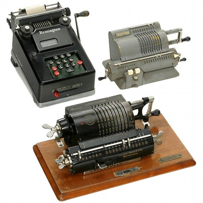 7: 3 Calculating Machines