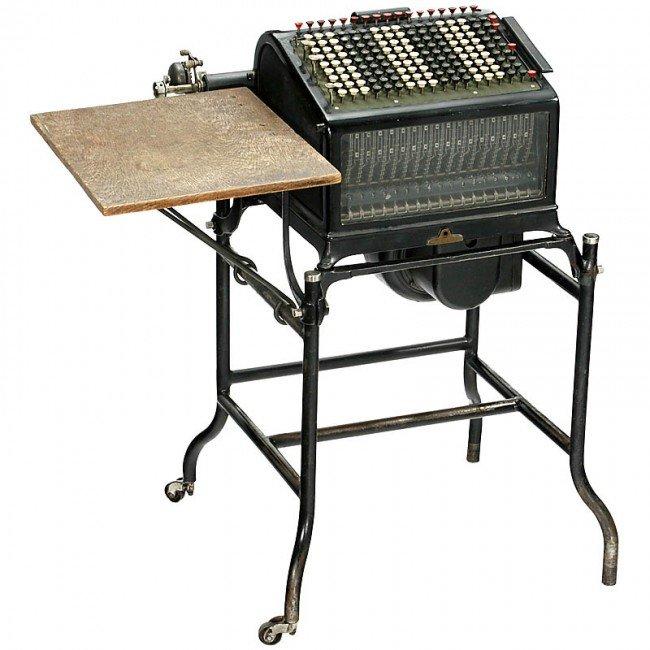 "8: ""Burroughs Electric Mod. C2"""