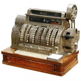 """15: Cash Register """"National Model 562 X E"""", 1911"""