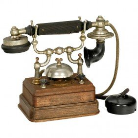 "18:  Telephone ""L. M. Ericsson Model BC 2050"", 1896"
