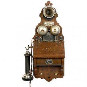 """20: Wall Telephone """"L. M. Ericsson: Export Model No. 30"""