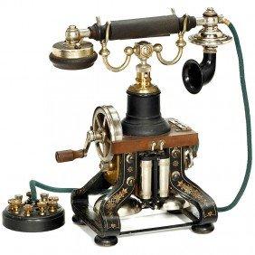 23: Skeleton Telephone by L. M. Ericsson, 1892