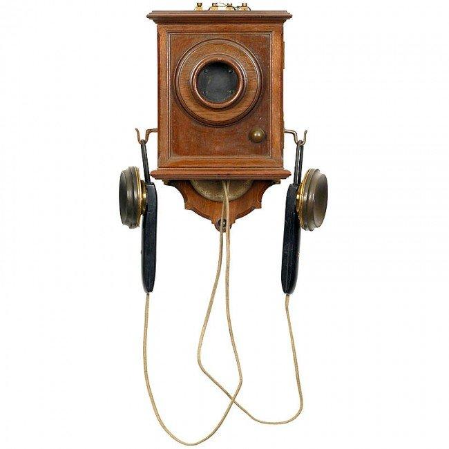 "24: German Telephone ""Mix & Genest"", c. 1885"