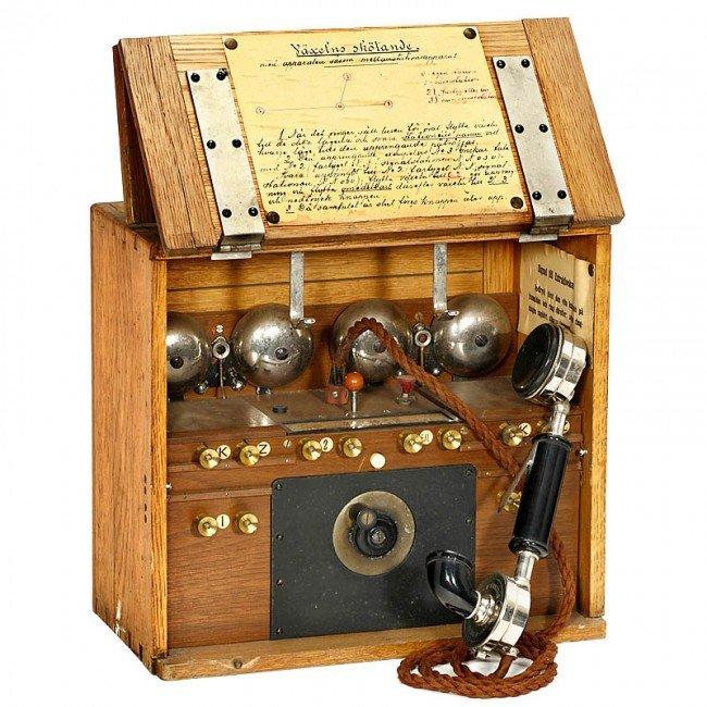33: Swedish Field Telephone, c. 1900