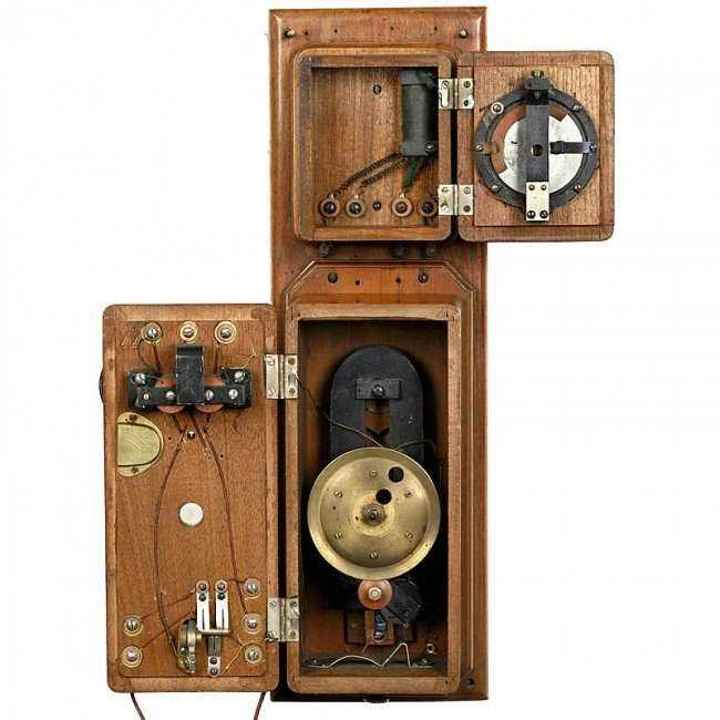 """60: American Wall Telephone """"A. G. Bell"""", from 1876 (!) - 2"""