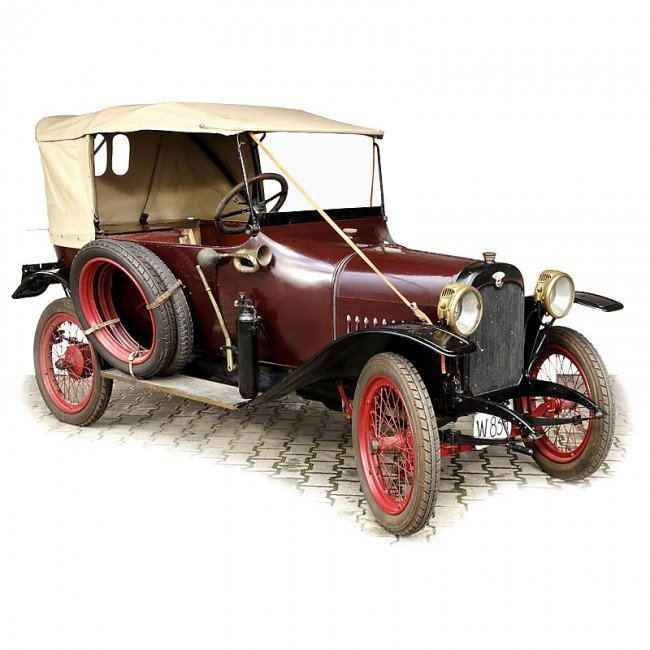 """246: 3-Seated Touring Car """"Wanderer (Puppchen)"""", 1920"""