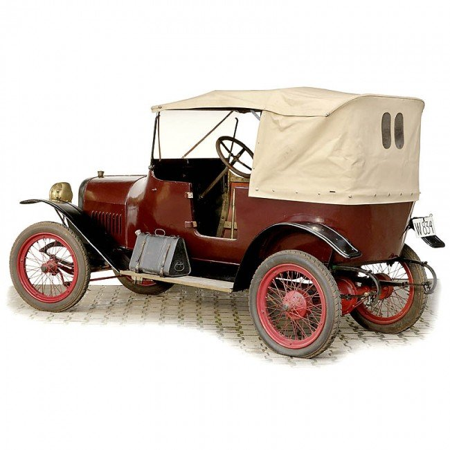"""246: 3-Seated Touring Car """"Wanderer (Puppchen)"""", 1920 - 2"""