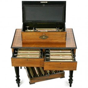 446: Interchangeable Cylinder Musical Box by Jean Billo