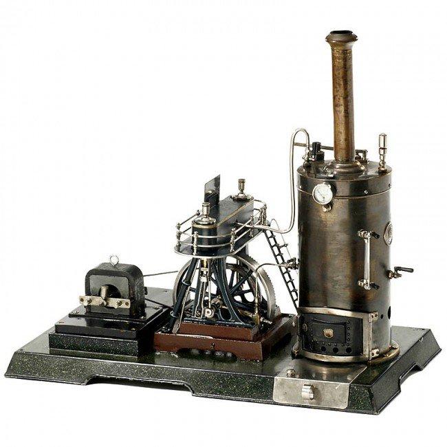 714: Märklin: Model Steam Engine (4124/14), 1908
