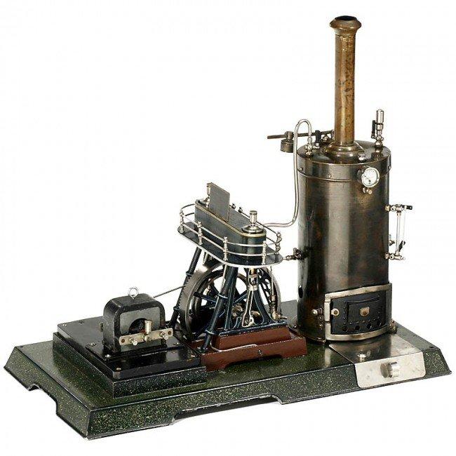 714: Märklin: Model Steam Engine (4124/14), 1908 - 2