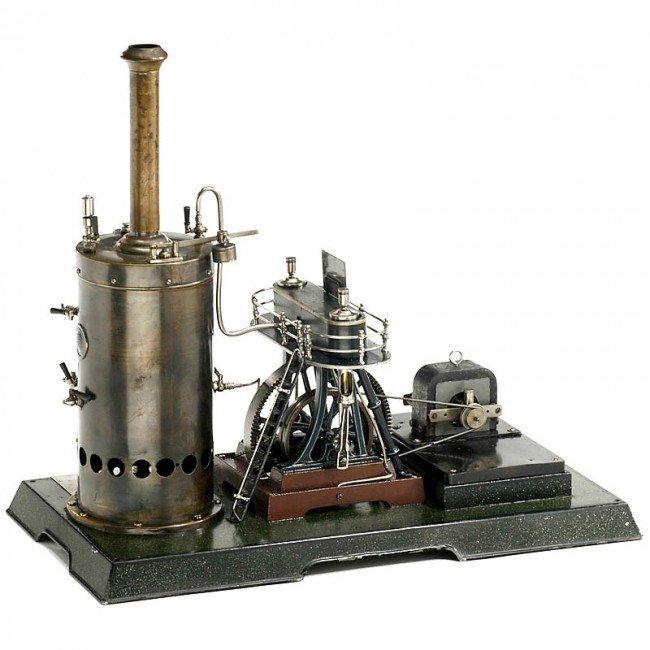 714: Märklin: Model Steam Engine (4124/14), 1908 - 3