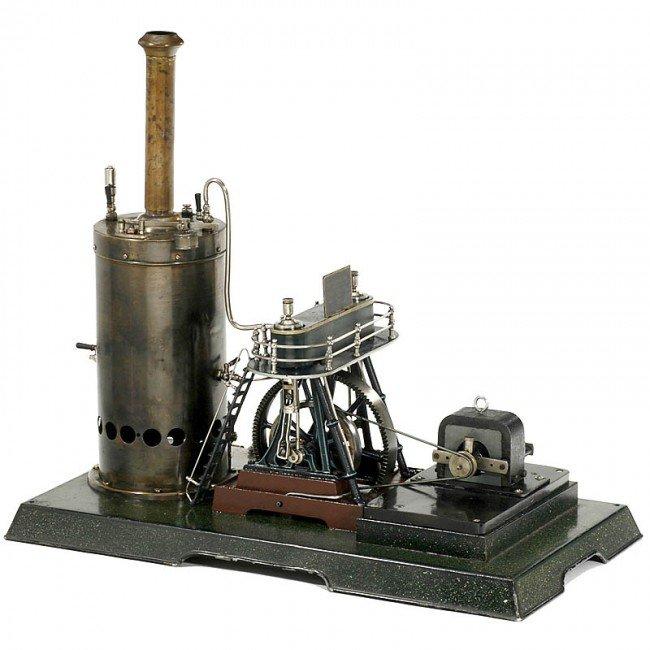 714: Märklin: Model Steam Engine (4124/14), 1908 - 4