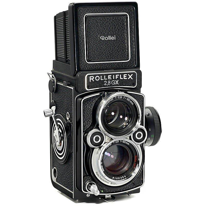 6: Rolleiflex 2,8 GX, c. 1988