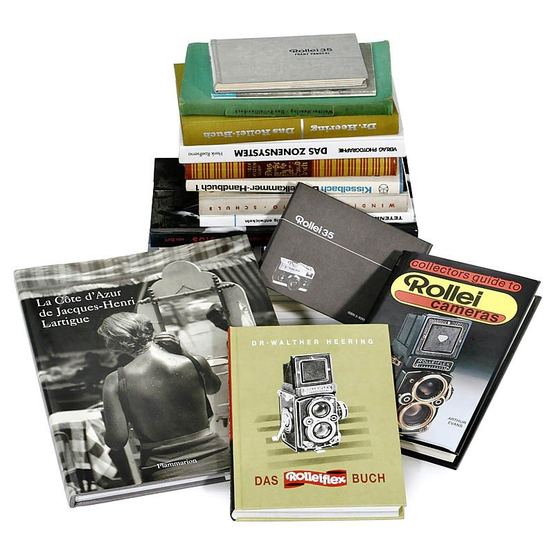 9: 6 Rollei Books and more