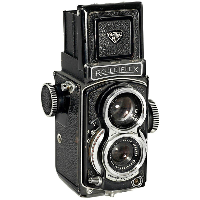 11: Rolleiflex 4 x 4 cm, Black, 1963
