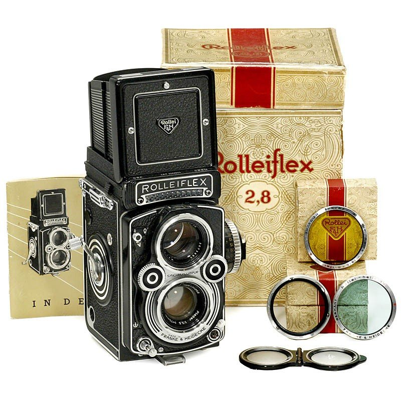 12: Rolleiflex 3,5 F, 1960