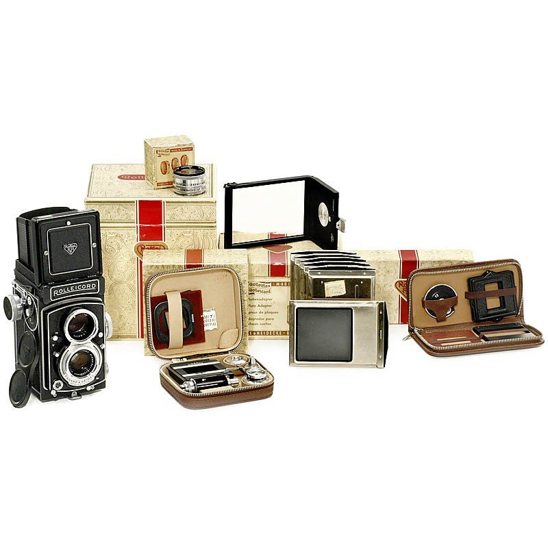13: Rolleicord Vb with Accessories, 1962